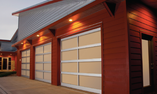 Aluminum garage door img